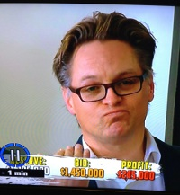 Mark Purves from Stonnington Conveyancing / Melbourne Buyers Advocates, bidding for a Client on The Block - Sky High 27/7/2013